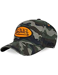 7cbb422e7bc28 Von Dutch Men s Baseball Cap Camo One Size