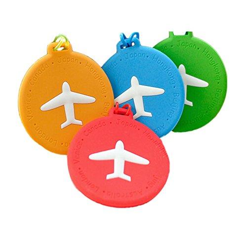 Etiquetas equipaje avión lindo 3 paquetes Etiquetas