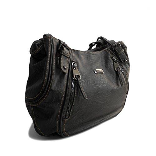 Bag Street, Jennifer Jones - präsentiert von ZMOKA®, Borsa a tracolla donna Multicolore multicolore, grigio (Grigio) - 0 grigio