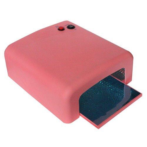 #Sina® UV Lichthärtungsgerät Lichthärtegerät pink UV Lampe 4-Röhren-System Nägel Röhre#