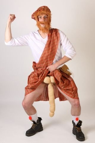 nal Foxxeo Schottenkostüm Schotte Kostüm Schottenrock Kostüm Schotte Universalgröße (Lustige Horror-filme Für Halloween)
