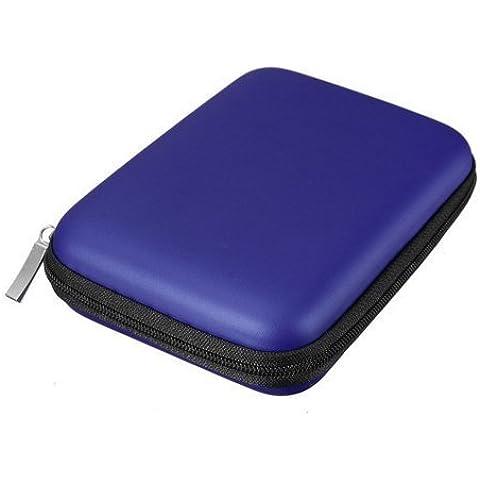 Eva bolsa estuche de viaje para portátil adecuado para disco duro externo Western Digital WD My Passport Essential Hitachi/Toshiba/Buffalo/Seagate/Samsung