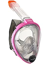 Head Sea Vu Dry Full Face Snorkeling Mask Made in Italy