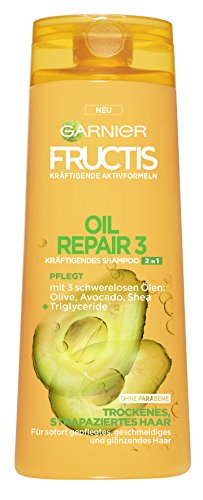 Garnier Fructis Oil Repair Shampoo 2 in 1, 6er Pack (6 x 250 ml)