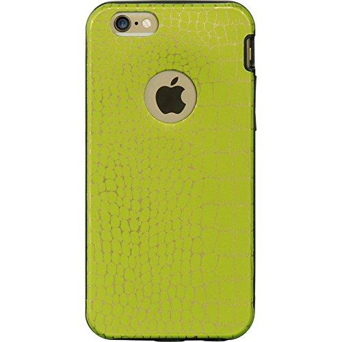 DreamWireless IMD TPU PC Hybrid Case für iPhone 6-Retail Verpackung-Grün Haut