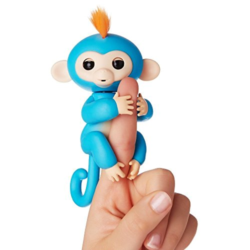Wicrotec Finger Monkey Interactive Toy – Fun Cute Hanging Puppet – Baby Monkey Pet for Children [Random Color]