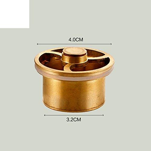 HCP Déodorant vidange du cuivre-core U-type toilette lave linge invisibles insecte salle de bains anti-obstruction de base intérieure-A
