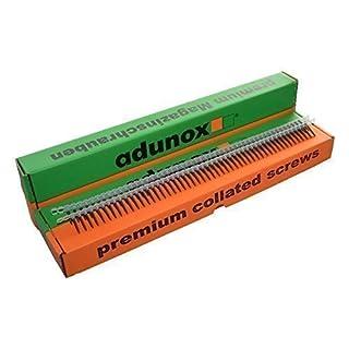 adunox Gurtmagazinschrauben / Magazinschrauben 3,9 x 30 mm mit Feingewinde 1VE (1000St)