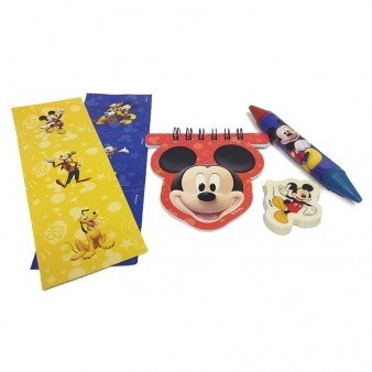 Mickey Mouse Stationery Favour Party Pack (20 Pieces)