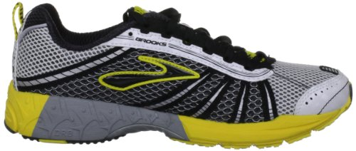 Brooks  Racer St 5, Chaussures d'athlétisme mixte adulte Blanc - White/Black/Yellow