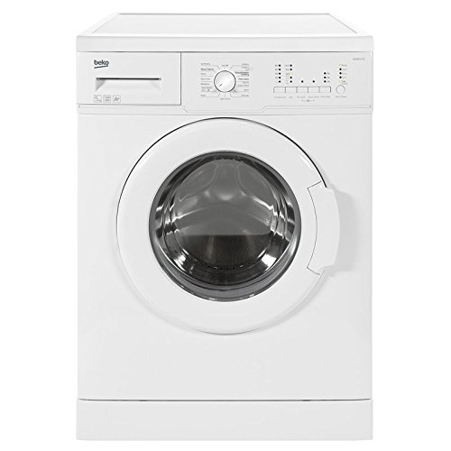 Beko WM5122W Freestanding, Front-Loading Washing Machine, 5 kg, 1200 RPM, A+, White (Freestanding, Front Loading, White, Buttons, Rotary, Stainless Steel, 44L)