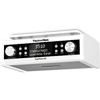 TechniSat DIGITRADIO 20 / Digital-Radio, Unterbau-Küchen-Radio ...