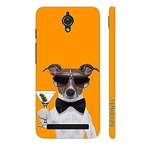 Enthopia Designer Hardshell Case DOG BOND MARTINI Back Cover for Asus Zenfone C