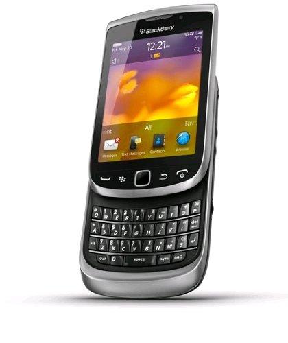 Blackberry Torch 98108GB, Grau, Smartphone (Einzel-SIM, Blackberry OS, MiniSIM, GPRS, GSM, HSDPA, HSUPA, Micro-USB)