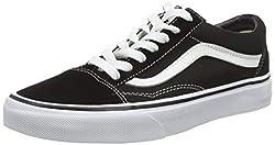 Vans Old Skool, VD3HY28,  Unisex-Erwachsene Sneakers, Schwarz (Black/White), 44.5 EU