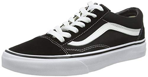 Vans Old Skool, Zapatillas Unisex Adulto, Negro (Black/White), 37