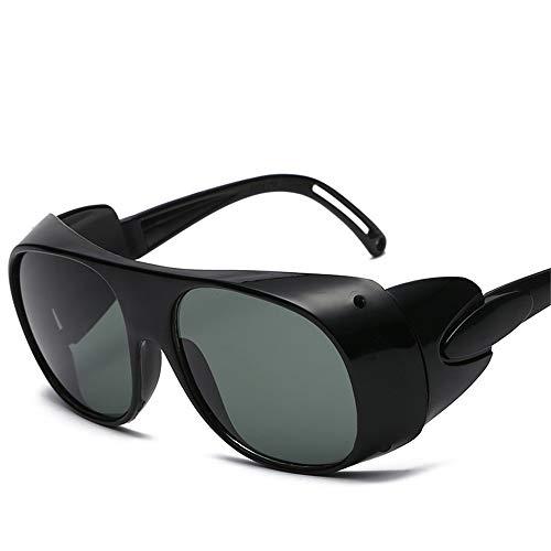 Easy Go Shopping The Electric Arc Welding Schweißbrillen Argon Arc Welding Goggles Sonnenbrillen Sonnenbrillen und Flacher Spiegel (Farbe : B) -