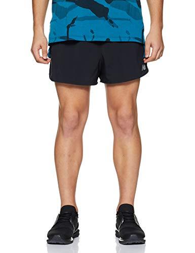 New Balance Herren Accelerate Split Shorts, Schwarz, Large/3-Inch
