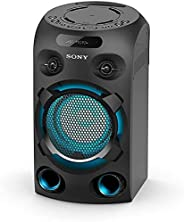 Sony MHC-V02 Compact High Power Party Speaker, One Box Music System with Bluetooth, Jet Bass Booster and Tripo
