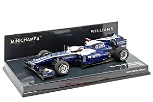 MINICHAMMPS 417100009 - Coche en Miniatura, Color Azul y Blanco