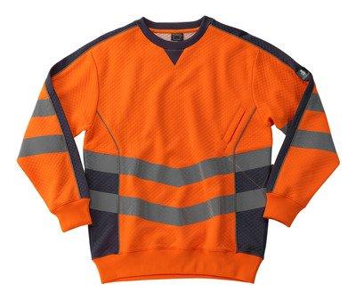 Preisvergleich Produktbild Mascot Sweatshirt Wigton, 1 Stück, 2XL, gelb/schwarz, 50126-932-1709-2XL