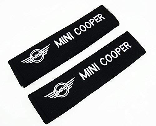 Imbottiture per cinture dell'auto con logo ricamato Mini Cooper