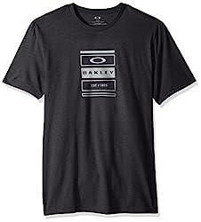 Oakley Mens Tri-Box Stack, Blackout LT HTR, M