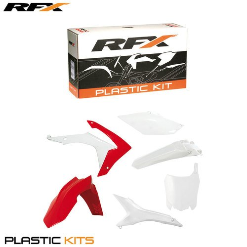 RFX fxpk 1160055oe Honda CRF45013≫ auf CRF25014≫ auf Plastik Kit Honda CRF45013≫ auf CRF25014≫ auf, weiß