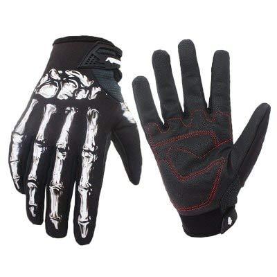 ExcLent Radfahren Mountainbike Handschuhe Fahrrad Reithandschuhe - Black XL / 2XL