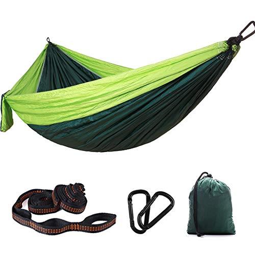 YANFEI Nylon Hängematte Outdoor Doppel Schaukel Stuhl Fallschirm Tuch Tragbare Moskitonetz Schlafsaal Einzel Hängematte (Farbe : F)