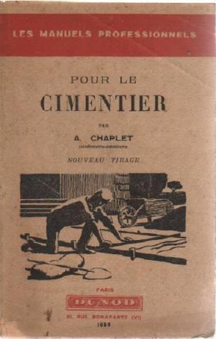 Pour le cimentier par Chaplet a.