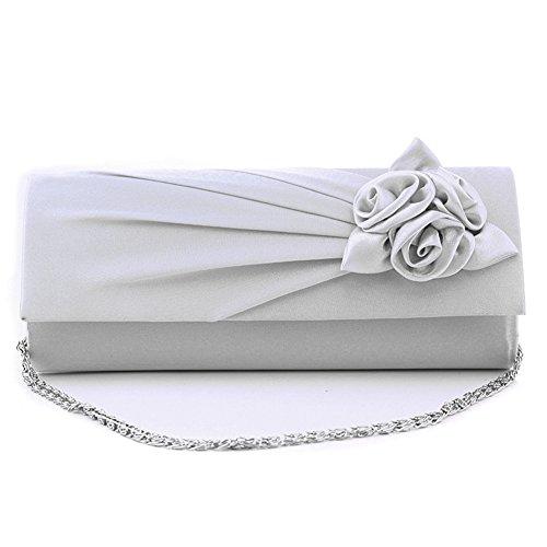 GSPStyle, Poschette giorno donna Argento argento Misura unica argento