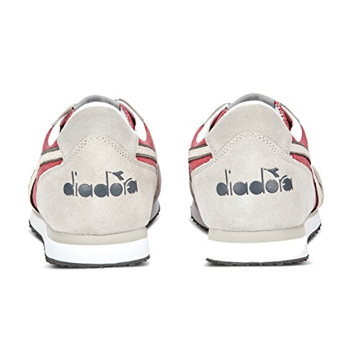 Diadora K-run C Ii, Baskets À Encolure Montante Unisexe Pour Adulte 45038 - Rouge Scarlatto