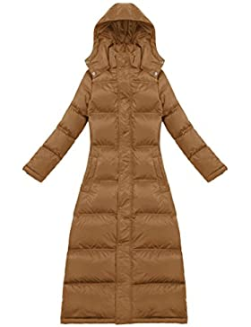 Sexyggs Women's Warm Fashion Slim Hooded Duck Down Long Down Coat