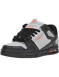 Osiris Peril Light Grey/Orange Shoe