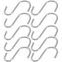 SODIAL(R) 10 pz Gancio a forma S per appende mescolo pentola padelle cucina