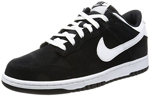 Nike Men's Dunk Low Pro Black/White Skate Shoe 8 Men US (Nike Womens Dunk)