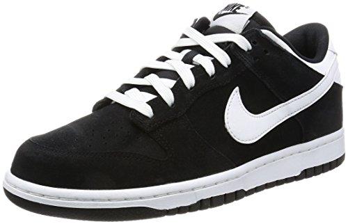 Nike Dunk Low, Chaussures de Gymnastique Homme, 47.5 EU noir/blanc