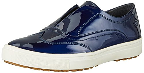 Tamaris Damen 24605 Slipper, Blau (Night Blue Pat 845), 38 EU