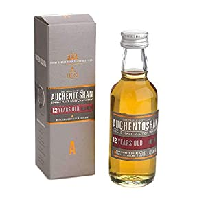 Auchentoshan 12 yr Single Malt Scotch Whisky Miniature - 5cl from Auchentoshan