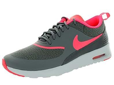 Nike Air Max Thea, Chaussures de running femme - Multicolore (Dark Grey/Hyper Punch), 40.5 EU