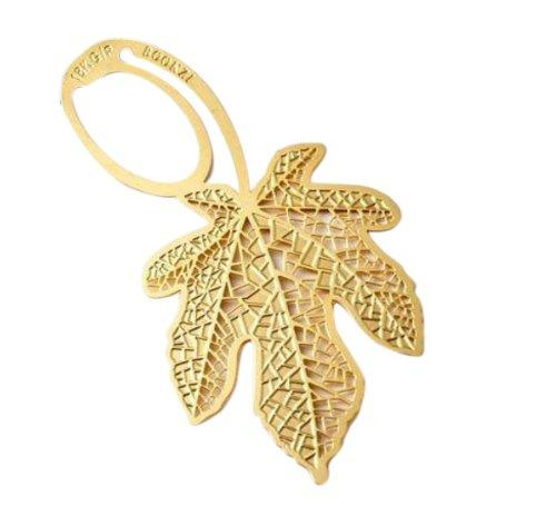 gold-ahornblatt-lesezeichen-blatt-metall-geschenk-mitbringsel-buch-lese-verschiedene-formen