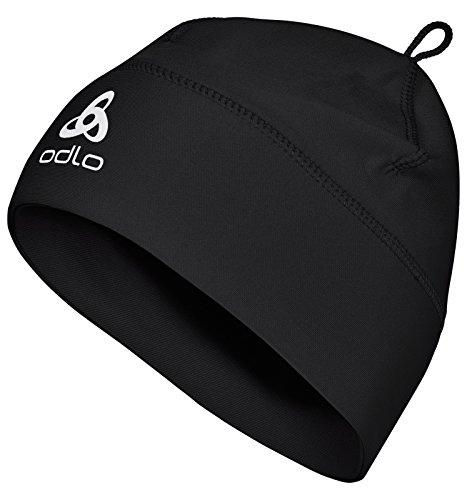 Odlo Kinder Mütze Hat POLYKNIT KIDS, Black, One Size, 776359