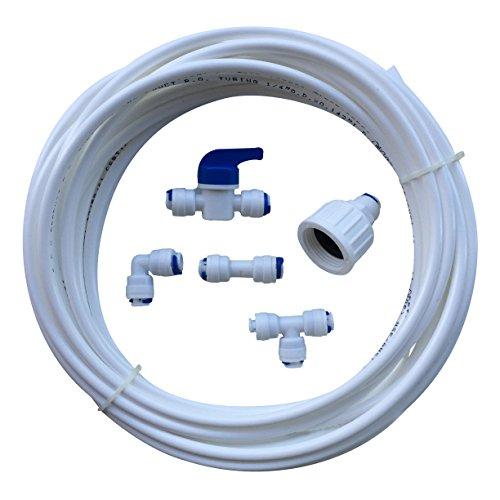 Rosca de conexión del filtro de agua del congelador nevera americana que...