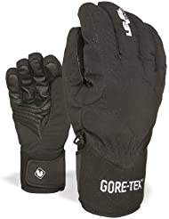 Level Handschuh Force Gore-Tex - Guantes de esquí para hombre, color negro, talla 9.5