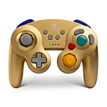 PowerA Wireless Controller for Nintendo Switch and Nintendo Switch Lite - Gamecube Style Gold