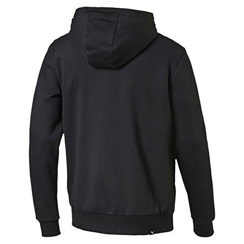 PUMA Herren Ess FZ Hoody FL Pullover Noir
