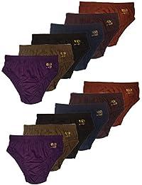 T2F Girls Panties- Dark Colors (Pack of 12)
