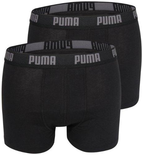Preisvergleich Produktbild PUMA Herren Basic Boxer Boxershort Unterhose black 200 - M 6er Pack