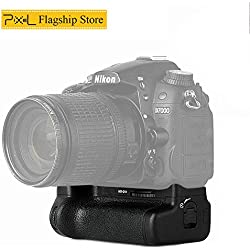 Pixel Vertax D11 Poignée d'alimentation Batterie Grip pour Nikon D7000 DSLR Fonctionne avec Une Batterie de EN-EL15 ou Six Piles de AA / LR6 (Remplacement de Nikon MB-D11)